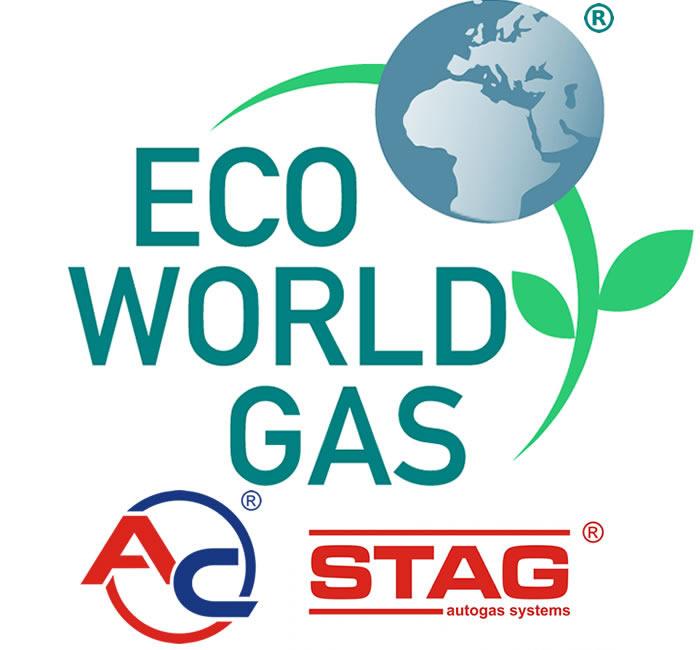 Logo Eco World Gas e AC Stag